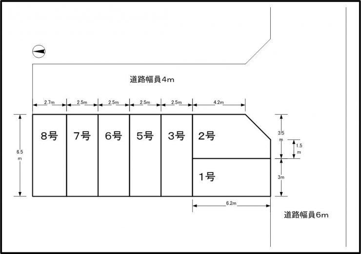 現地図(間取)
