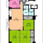 現状、4DKのお部屋です。エレベーターも近くて便利なお部屋です。(間取)