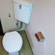 トイレと洗面脱衣所は同じお部屋となっております(内装)