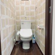 トイレは1階3階に2ヶ所あります。(内装)