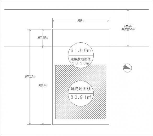 土地配置図(間取)