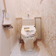 2Fトイレは家族だけが使うことを想定しています(写真は新築当時の写真です)(内装)