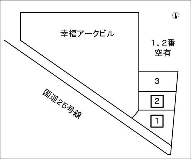 駐車場空有(軽専用)1台16,500円(税込)(間取)
