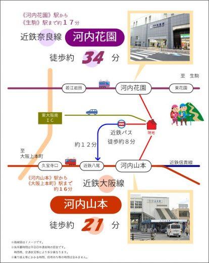 交通案内(地図)